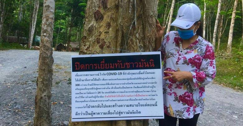 ชนเผ่ามานิหวั่นกลัวไวรัสกลับเข้าป่ากักตัวเอง 14 วัน