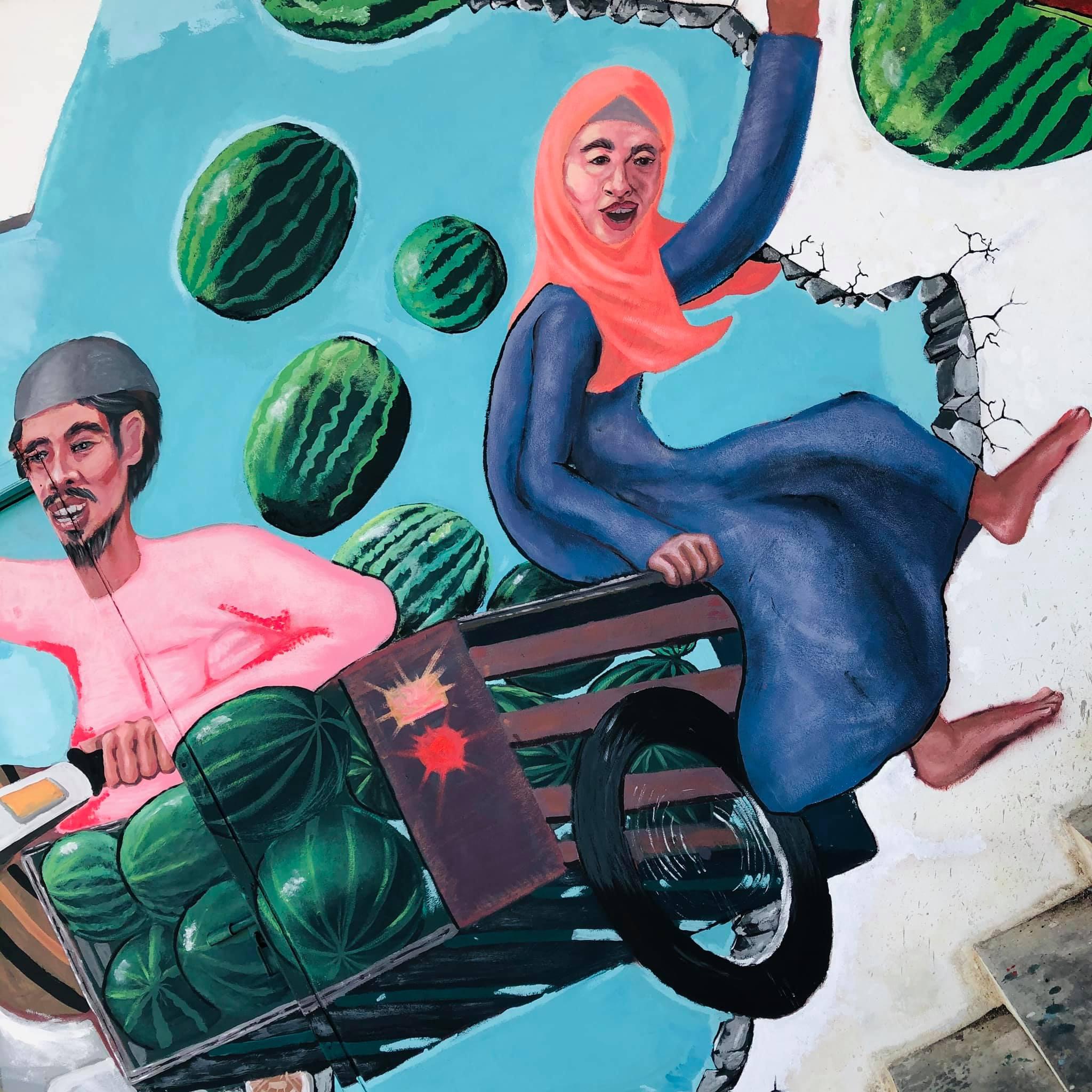 เสร็จแล้ว Street Art จุดแลนด์มาร์คแห่งใหม่ของอำเภอเทพา จ.สงขลา