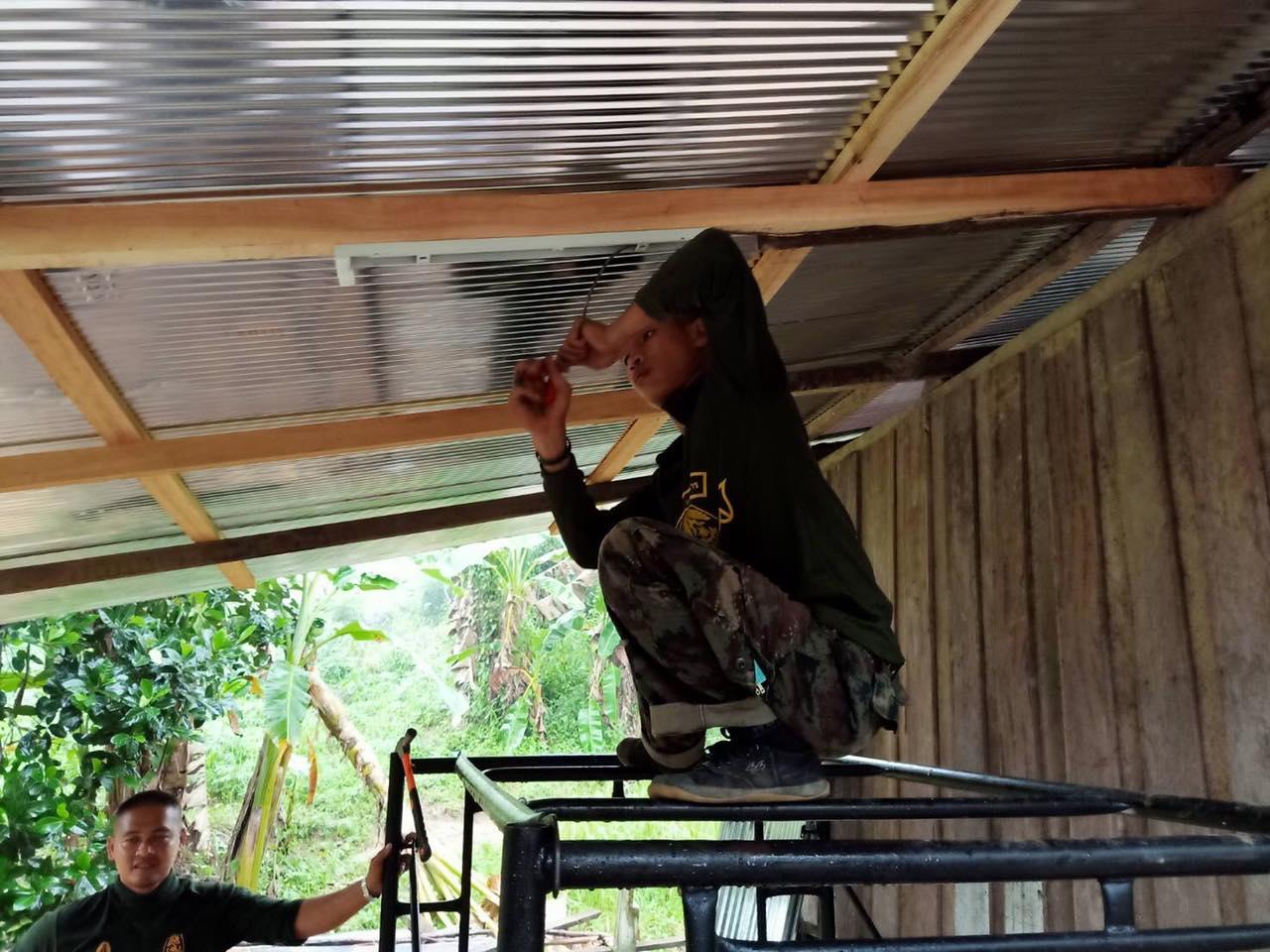 ครงการคนไทยไม่ทิ้งกัน สร้างบ้านให้ผู้ยากไร้ เพื่อถวายเป็นพระราชกุศล