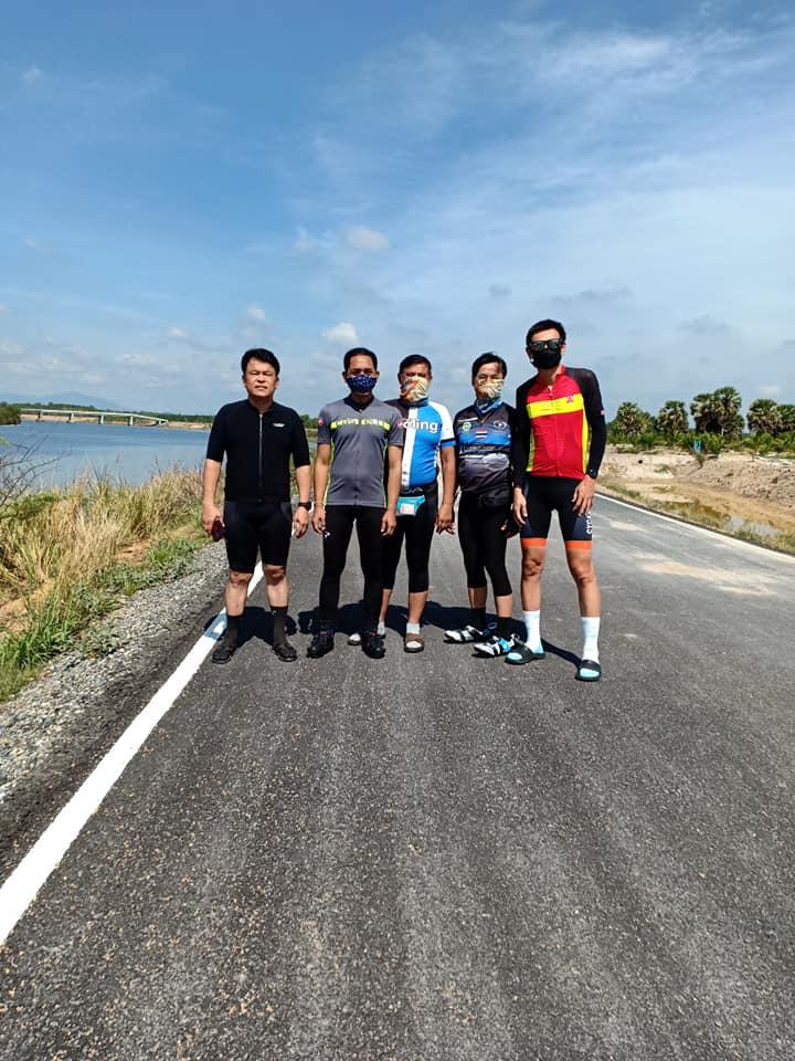 เริ่มแล้วโครงการถนนปั่นจักรยาน(สงขลาไบค์เลน) ถนนเลียบคลอง ร.1 หาดใหญ่