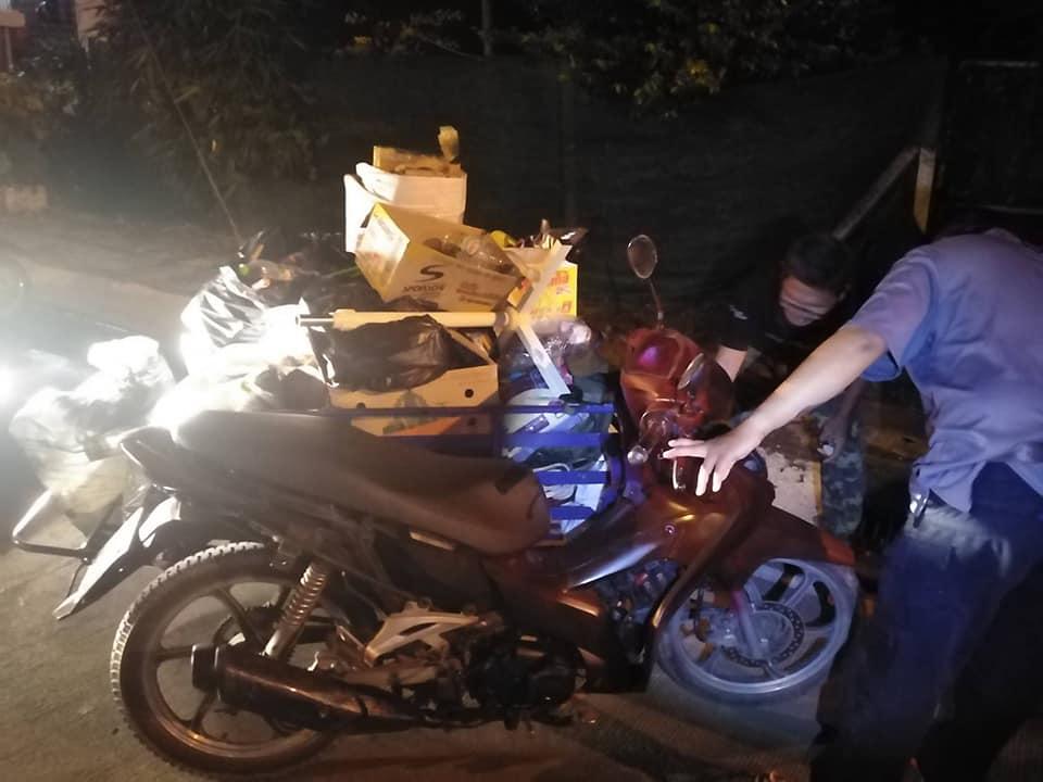 หาดใหญ่ ตำรวจรวบคนร้ายขโมยรถจักยานยนต์พวงข้างเพื่อเก็บของเก่าขาย