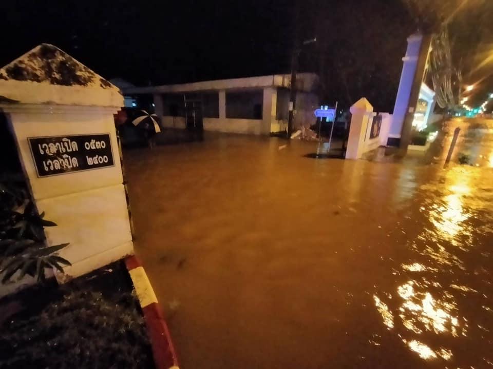สรุปสถานการณ์น้ำท่วมขังในพื้นที่เทศบาลนครหาดใหญ่ วันที่ 21 พ.ย. 63