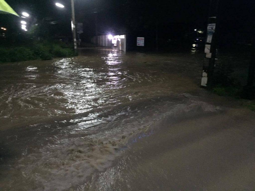 สถานการณ์น้ำในคลองพื้นที่เขตเทศบาลหาดใหญ่ ตอนนี้อยู่ในระดับปกติ