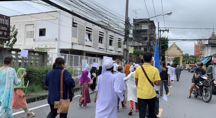 5 ศาสนา เดินเจริญเมตตาให้เกิดสันติสุขให้ประเทศสงบสุข เผยไม่ยุ่งเกี่ยวกับการเมือง