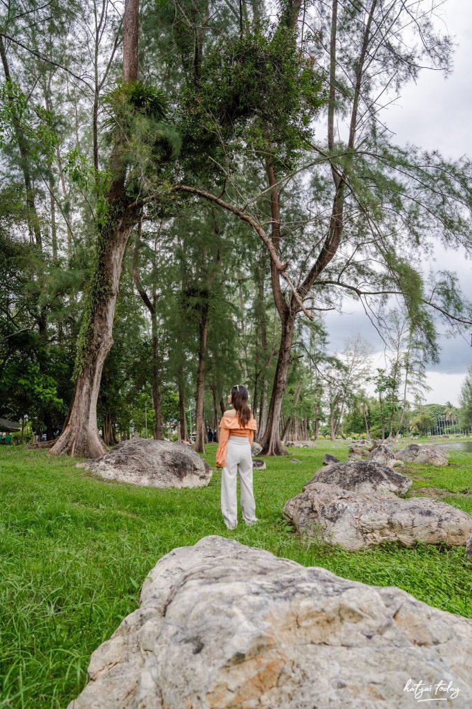 จุดเช็คอินยะลา ป้ายสวนขวัญเมือง