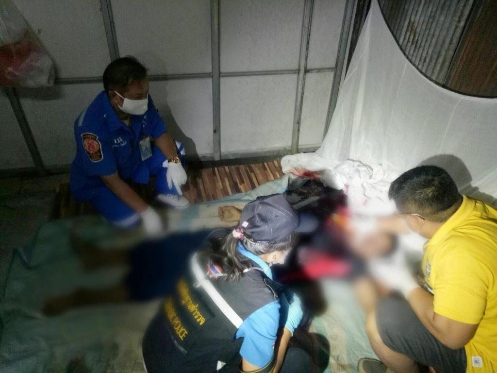 ดับคาที่พัก ! หนุ่มชาวพม่าถูกตีศีรษะเสียชีวิตเหตุมีปากเสียงกับผู้ก่อเหตุและลงมือทำเพราะฤทธิ์สุรา