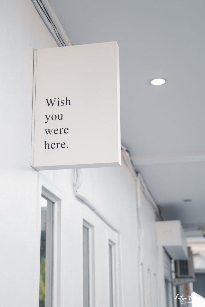 wish you were hrer.