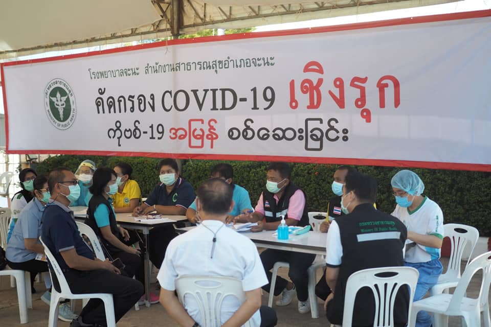 มาตรการป้องกันโรคโควิด