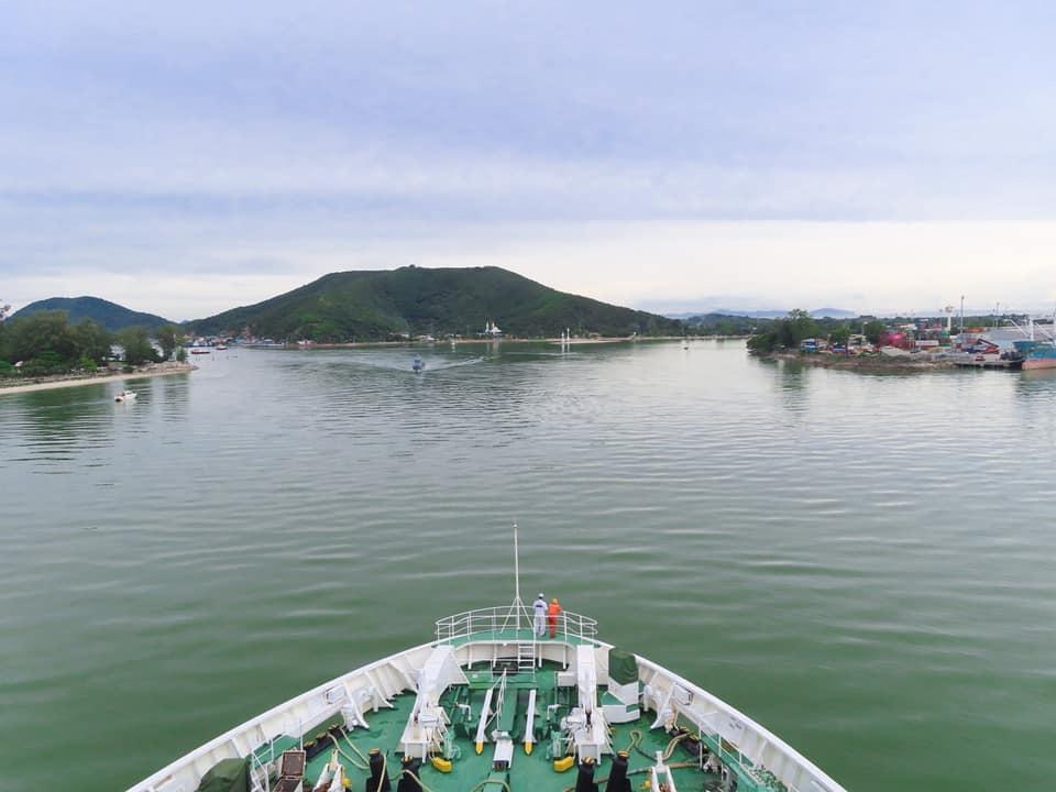 ทดสอบการเดินเรือเฟอร์รี่เป็นครั้งแรก